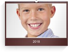 Fotokalender Rot 1 - Rot (A3 Querformat)
