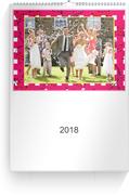 Fotokalender Picnic 1 - Pink (A3 Hochformat)