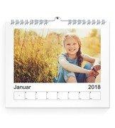 Wochen-Wandkalender A5 17x14 Quer - Orange (170x140 A5 Wandkalender Quer)
