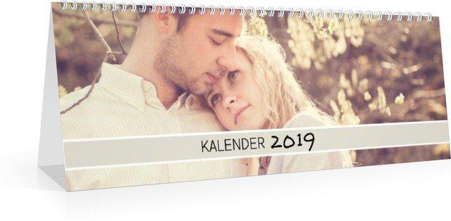 Kalender Monats-Tischkalender Hoch Farbenspiel 2019 Vorschau Deckblatt öffnen