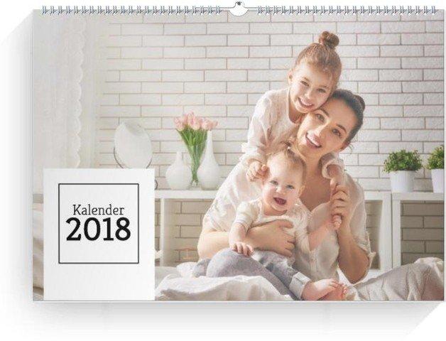 Kalender Quadrat quer 2018 Vorschau Deckblatt öffnen
