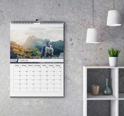 Wandkalender selber gestalten