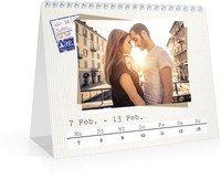 Calendar Wochen-Tischkalender Reisefieber 2022 page 8 preview
