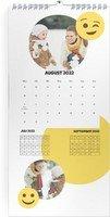 Calendar 3 Monats Kalender Smiley 2022 page 9 preview