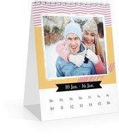 Calendar Wochen-Tischkalender Kunterbunt 2022 page 4 preview