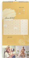 Calendar 3-Monatskalender Sanft geblümt 2022 page 7 preview