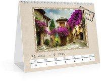 Calendar Wochen-Tischkalender Reisefieber 2022 page 7 preview