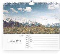 Calendar Wochen-Wandkalender Blanko Notizen 2022 page 3 preview