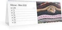 Calendar Tischkalender Blanko Notizen 2022 page 11 preview
