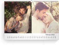 Calendar Blanko Collage Quer 2022 page 3 preview