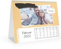 Calendar Monats-Tischkalender Trendig 2022 page 3 preview