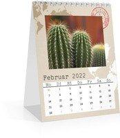 Calendar Monats-Tischkalender Reisefieber 2022 page 3 preview