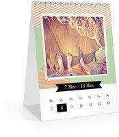 Calendar Wochen-Tischkalender Kunterbunt 2022 page 12 preview