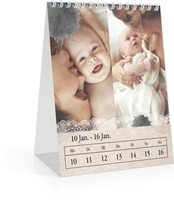 Calendar Wochen-Tischkalender Tintenklecks 2022 page 4 preview