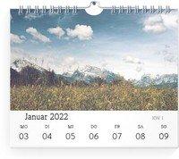 Calendar Wochen-Wandkalender Blanko 2022 page 3 preview