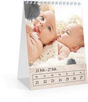 Calendar Wochen-Tischkalender Tintenklecks 2022 page 10 preview