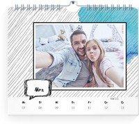 Calendar Wochenkalender Gestrichelt 2022 page 10 preview