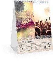 Calendar Wochen-Tischkalender Tintenklecks 2022 page 8 preview