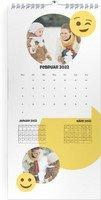 Calendar 3 Monats Kalender Smiley 2022 page 3 preview