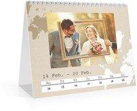 Calendar Wochen-Tischkalender Reisefieber 2022 page 9 preview