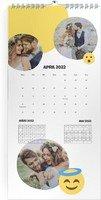 Calendar 3 Monats Kalender Smiley 2022 page 5 preview