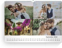 Calendar Blanko Collage Quer 2022 page 10 preview