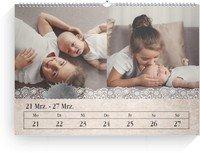 Calendar Wochenkalender Tintenklecks 2022 page 12 preview