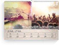 Calendar Wochenkalender Tintenklecks 2022 page 8 preview