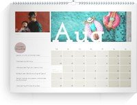 Calendar Wandkalender Challenge 2022 page 9 preview