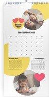 Calendar 3 Monats Kalender Smiley 2022 page 10 preview
