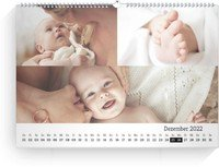Calendar Blanko Collage Quer 2022 page 13 preview