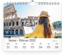Calendar Wochen-Wandkalender Blanko 2022 page 7 preview
