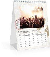 Calendar Monats-Tischkalender Reisefieber 2022 page 12 preview