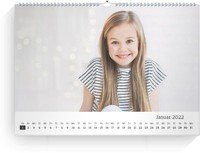 Calendar Blanko quer 2022 page 2 preview
