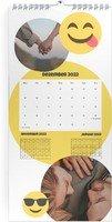 Calendar 3 Monats Kalender Smiley 2022 page 13 preview