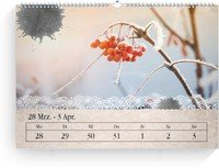 Calendar Wochenkalender Tintenklecks 2022 page 13 preview
