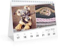 Calendar Wochen-Tischkalender Blanko Ethnoschick 2022 page 5 preview
