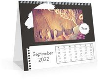 Calendar Monats-Tischkalender Trendig 2022 page 10 preview