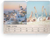 Calendar Wochenkalender Tintenklecks 2022 page 6 preview