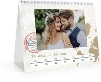Calendar Wochen-Tischkalender Reisefieber 2022 page 6 preview