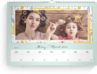 Calendar Wochenkalender Blumenfest 2022 page 13 preview