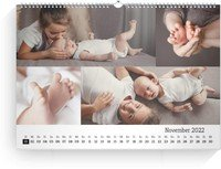 Calendar Blanko Collage Quer 2022 page 12 preview