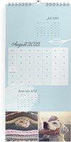 Calendar 3-Monatskalender Sanft geblümt 2022 page 9 preview
