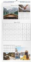 Calendar 3-Monatskalender Foto-Mosaik 2022 page 4 preview