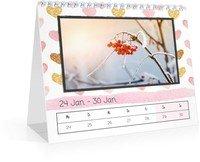 Calendar Wochen-Tischkalender Herzallerliebst 2022 page 6 preview