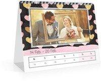 Calendar Wochen-Tischkalender Herzallerliebst 2022 page 9 preview