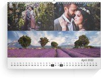 Calendar Blanko Collage Quer 2022 page 5 preview