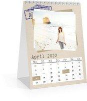 Calendar Monats-Tischkalender Reisefieber 2022 page 5 preview