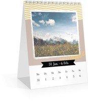 Calendar Wochen-Tischkalender Kunterbunt 2022 page 7 preview
