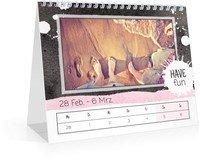 Calendar Wochen-Tischkalender Herzallerliebst 2022 page 11 preview